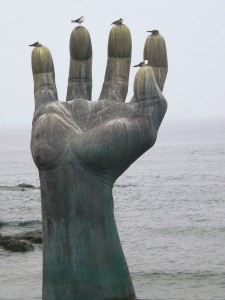 La main de la coexistance